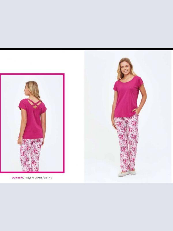 Dagi bayan kapri pijama takım 11610