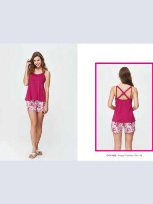 Dagi bayan şortlu pijama takım 11612