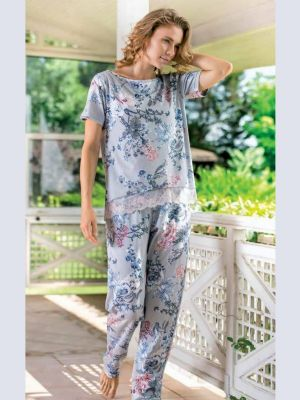 Yeni inci bayan pijama 1516